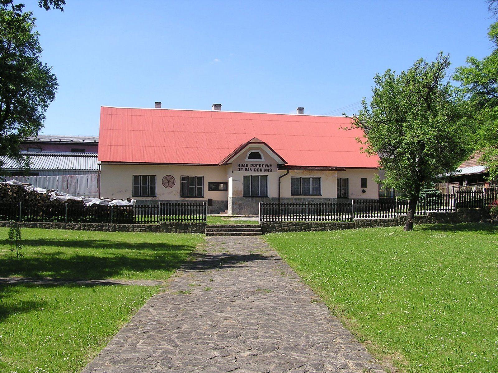 Zborový dom v Záriečí