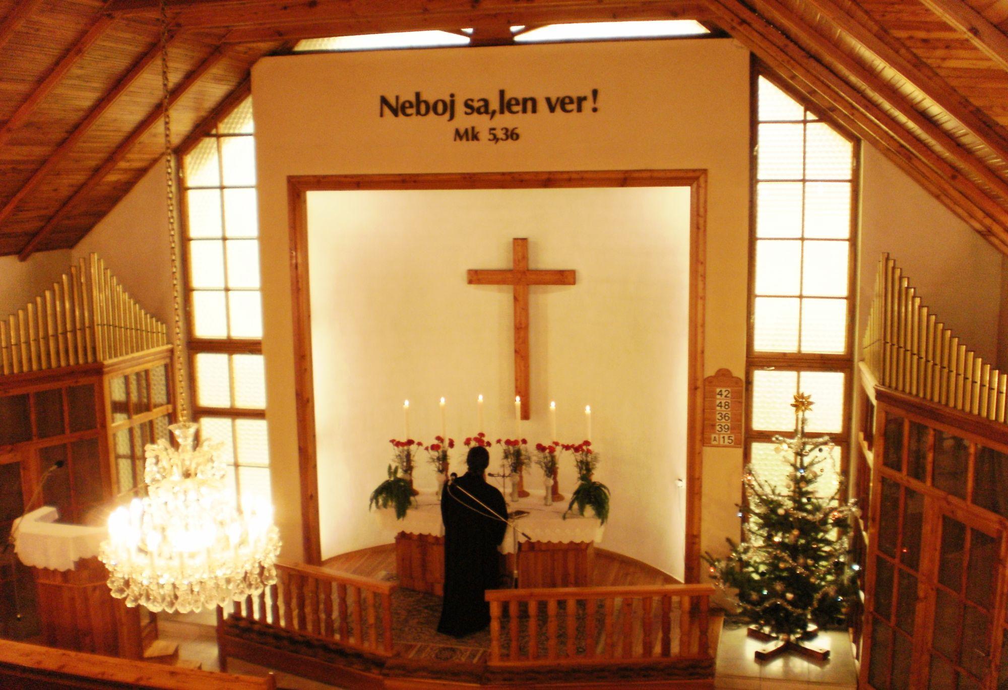 Kostol v Zbore